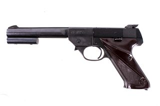 High Standard Olympic .22 Short Competition Pistol