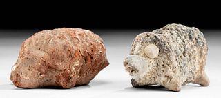 Romano-Egyptian Pottery Hedgehogs (pr)
