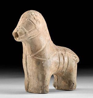 Roman Judaea Pottery Horse Figurine