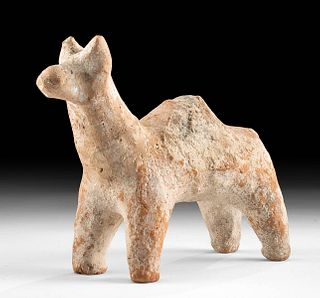 Ancient Anatolian Chalcolithic Pottery Camel