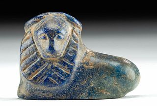 Achaemenid Lapis Lazuli Lion Amulet