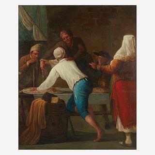 Antonio Cifrondi (Italian, 1657–1730), , The Spaghetti Thief