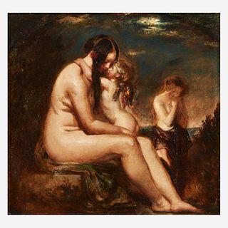 William Etty (British, 1787–1849), , The Dawn of Love