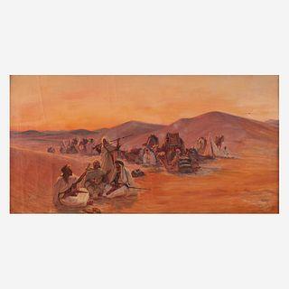 Otto Pilny (Swiss, 1866–1936), , Bedouin Camp