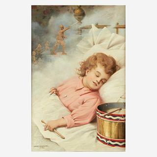 Charles Spencelayh (British, 1865–1958), , Dreams of Glory