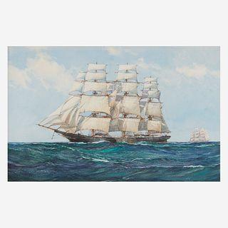 Montague Dawson (British, 1895-1973), , Dreadnought