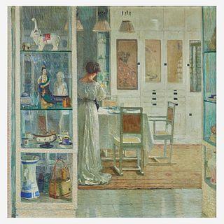 Carl Moll (Austrian, 1861–1945), , Weißes Interieur (White Interior)