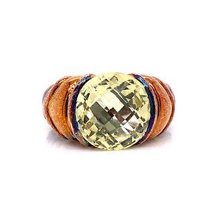 DAVID YURMAN Gold & Silver Ring