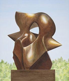 Erik Nitsche (1908 - 1998) Spindle Piece Sculpture