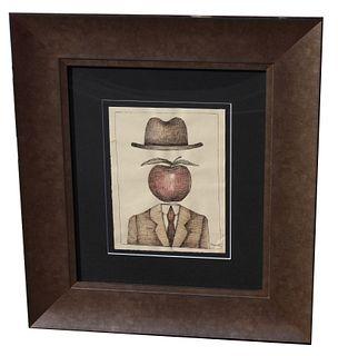 Manner of Rene Magritte (1898 - 1967)