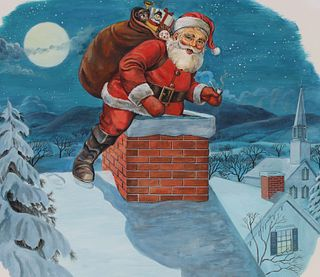 Charles Berger (1922 - 2012) Great Christmas Story