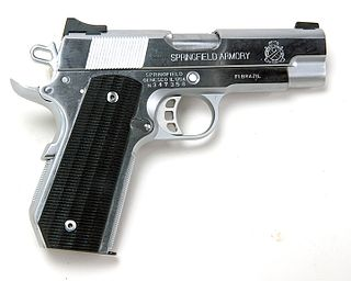 Springfield Armory 1911 Champion Custom Benchmark Precision