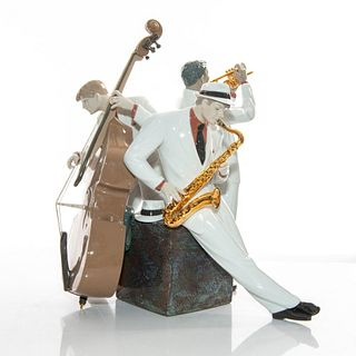 Jazz Trio 01008568 - Lladro Porcelain Figure