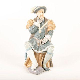 King Henry Vlll 01001384 - Lladro Porcelain Figure