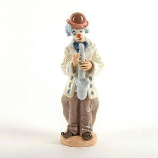 Sad Sax 1005471 - Lladro Porcelain Figure
