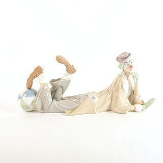 Clown 1004618 - Lladro Porcelain Figure