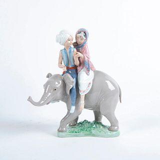 Hindu Children 01005352 - Lladro Porcelain Figure