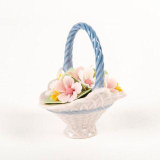 A Basket of Blossoms 01007580 - Lladro Porcelain Figure