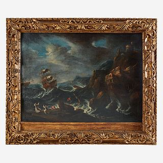 Follower of Pieter Mulier the Younger (Cavalier Tempesta) (Dutch, B.C. 1637–1701), , Shipwreck