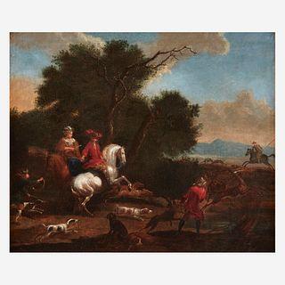 Follower of Adam Frans van der Meulen (Flemish, 1632–1690), , The Stag Hunt
