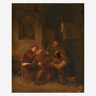 Thomas Webster (British, 1800–1886), , Boors Making Merry
