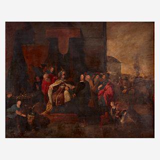Manner of Frans Francken the Younger (Flemish, 1581–1642), At the Court of King David