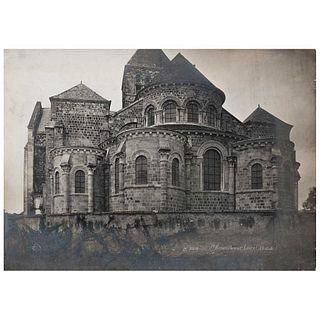"UNIDENTIFIED PHOTOGRAPHER, Abadía en el valle del Loira, France, Unsigned, Silver / gelatin without cardboard, 10.6 x 15.1"" (27 x 38.4 cm)"