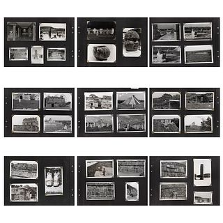 UNIDENTIFIED PHOTOGRAPHER, Tula, Chitchen Itzá, Unsigned, Silver / gelatin and postcards, Different sizes, Pieces: 78