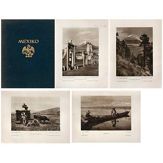 HUGO BREHME, Mexiko, Baukunst Landschaft Volksleben, Unsigned, Pages: 256