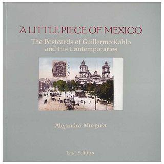 GUILLERMO KAHLO, A little piece of México, Alejandro Murgía, Last Edition, San Francisco, Pages: 185