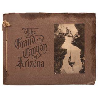 THE KOLB BROTHERS, The Grand Canyon of Arizona. Arizona, 1911, Signed from negative, Photomechanical prints, Pieces: 19, album