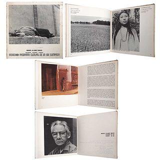 MANUEL ÁLVAREZ BRAVO, Manuel Álvarez Bravo. Fotografías 1928 - 1968. México 68. Programa Cultural de la XIX Olimpiada., Signed by MAB
