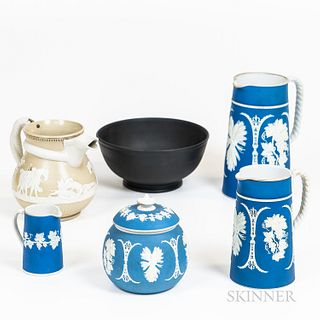 Six Pieces of English Ceramic Tableware