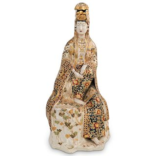 Antique Satsuma Guanyin