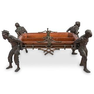 Blackamoor Figural Footed Tray