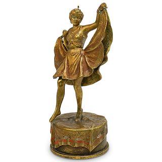 Franz Xaver Bergman (Austrian 1861-1936) Erotic Dancer Figurine