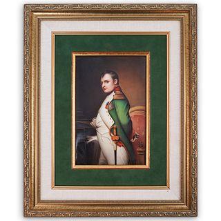 Antique Hutschenreuther Napoleon Plaque
