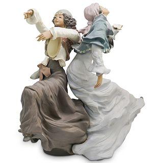 "Lladro Figurine Sculpture ""Gypsy Dancers"""