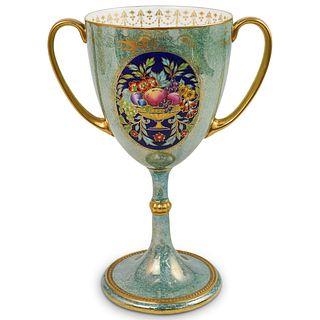 Vintage Minton Porcelain Enamel Chalice