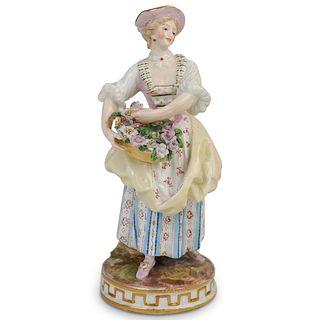 Antique Meissen Porcelain Figurine