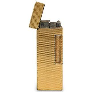 Vintage Gold Plated Dunhill Lighter