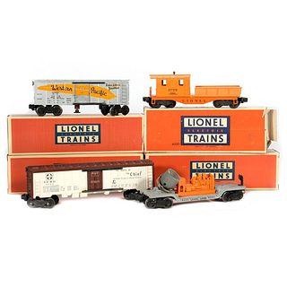 Lionel train cars