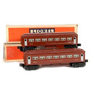 Lionel 2442 Brown Pullman, 2442 Brown Pullman