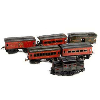 Ives train cars