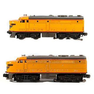 Lionel 2023 Union Pacific FA powered, 2023 Union Pacific FA Dummy