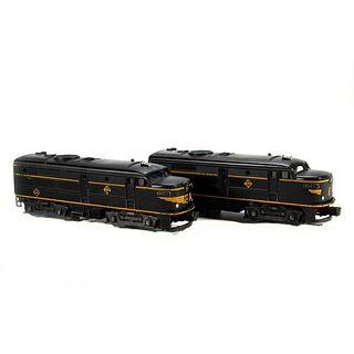 Lionel 2032 Erie Diesel Locomotive Powered Unit, 2032 Erie Diesel Locomotive Dummy