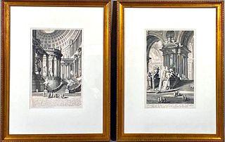 Two G.B.Piranesi Engravings