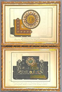 Berthaud Freres, Two Designs for Carpets