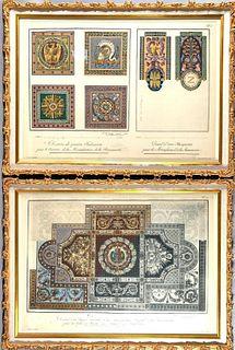 Berthaud Freres, Two Designs