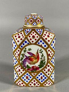 Dresden Porcelain Tea Caddy